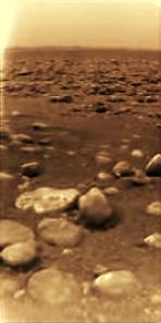 Titan today, viewed by ESA's Huygen Lander. Image: NASA/JPL