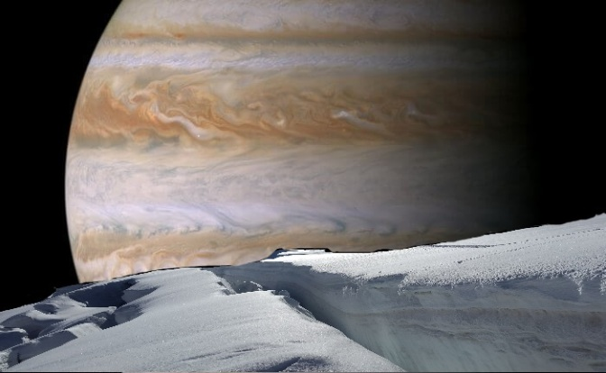 Europa: Life Beneath the Ice?